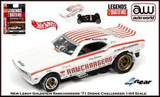 """New Auto World Leroy Goldstein """"Ramchargers"""" Legend of the 1/4 Mile Fits AW, AFX"""