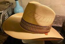 Rare Vintage 70s Levi's Orange Tag Western Cowboy Hat Size 7 1/4 EUC Stiff Brown