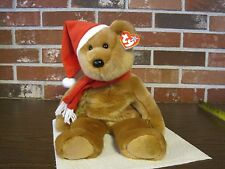 1997 TY ORIGINAL BEANIE BUDDY HOLIDAY TEDDY--1ST IN SERIES