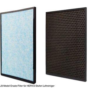 Ersatz-Filter für HEPA 6-Stufen Aktivkohle Luftreiniger 50 m³