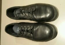 blue steel work boots size 10 euro 45 usa 11 Black leather shoes