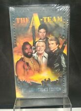 A-Team Collector's Edition Vintage VHS Tape sealed Mexican Slayride brand new
