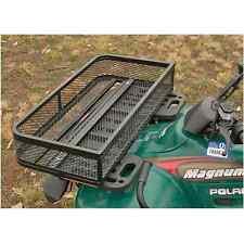 ATV Front Basket Rack Flat Drop Accessories Heavy Duty Metal Steel Mesh Box New