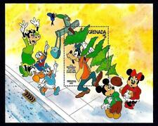 GRENADA - 1983 - DISNEY - MICKEY - A LOT LIKE CHRISTMAS - MINT - MNH S/SHEET!