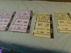 4 May 5 1976 Churchill Downs Tickets