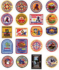 2017 Boy Scout Jamboree Reunion Patch Badge Set Lot BSA 1935 1937 1950 2010 2013