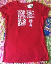 NWT Ecko Red Worldwide Women's T-shirt Large Short Sleeve Tee Stretch New