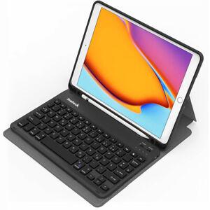Tastatur für iPad 8 2020/iPad 7 2019 10.2 Zoll, iPad Air 3, iPad Pro 10.5 Zoll