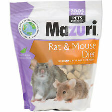 Mazuri Rat & Mouse Diet 2 lbs   For All Life Stages   Nutrional Pet Rodent Food