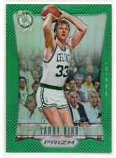 2012-13 Panini Prizm Larry Bird Green Prizm Parallel #163 Celtics HOF
