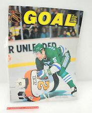 Vintage Goal Hockey Magazine Ulf Samuelsson