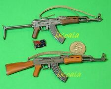 AK47_Set2 1:6 Scale Action Figure DRAGON RUSSIA AK-47 + AKS-47 GUN ASSAULT RIFLE