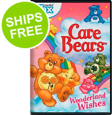 Care Bears Wonderland Wishes (DVD, 2013) NEW, Sealed, 80's movie, Carebear