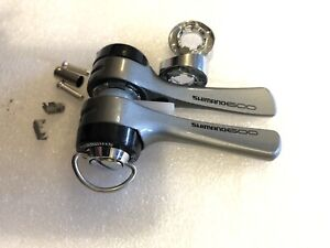brand new Shimano 600 SL-6400 7 speed shifters down tube 7sp shifters