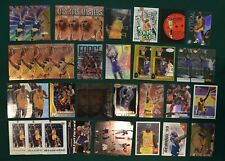 Shaquille O'Neal basketball card lot (37)  1990s Shaq Inserts Los Angeles Lakers