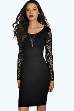 Lace Stretch, Bodycon Above Knee, Mini Casual Dresses