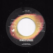 RINGO STARR * 45 * Only You / Call Me * 1974 USA Solar Flares APPLE Labl Beatles