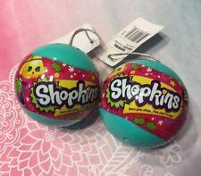 Shopkins Christmas Ornaments Season 3 Bauble 2 Pack set **US SELLER** VHTF!!