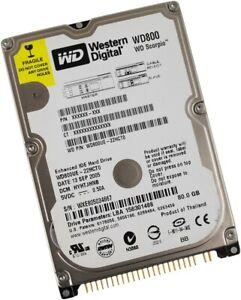 Western Digital Scorpio 80GB 80 GB IDE P-ATA PATA Notebook Festplatte 2,5 Zoll