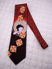 Cravatta BETTY BOOP, 100% Seta, Originale, vintage, Eccellenti condizioni !!!