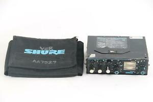 Shure FP33 3-Channel Field Stereo Sound Mixer Level XLR With Shure Case