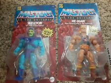 New 2020 Masters of the Universe He-Man + Skeletor Action Figures
