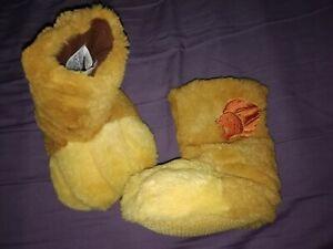 Disney Lion Guard kion Slippers UK Size 6-7