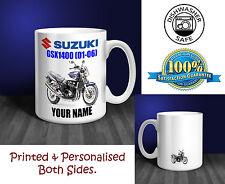 Suzuki GSX1400 Moto Regalo Personalizado Taza de cerámica (MB012)