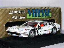 Vitesse L036 Ferrari 3085 GTB Valentino 1984 Rally Piancavallo #4 LTD ED 1/43