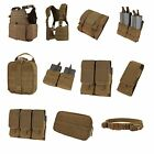 Coyote Brown Condor Molle Pouches Plate Carriers Vests