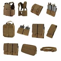 Molle Magazine Pouch Coyote Brown For Plate Carrier Tactical Vest Made By Condor