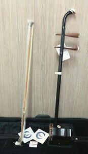 Chinese Erhu 2-string Violin Fiddle Musical Instrument Ling Yan #190