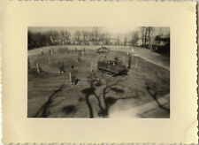 PHOTO ANCIENNE - VINTAGE SNAPSHOT - MILITAIRE CHENILLETTE CHAR - TANK THOUARS 4