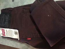 burgundy   LEVI'S LEVIS Levi Strauss  510  super skinny  jeans NWT 30x30 30