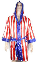 Rocky Balboa Apollo Movie Boxing American Flag robe