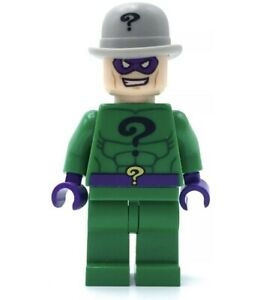 LEGO THE RIDDLER Classic MInifigure BATMAN 2 SUPER HEROES  Dc Comics 2012 FIGURE