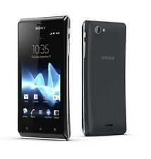 Sony XPERIA J st26i Black Smartphone Android 4gb 5mp nero senza SIM-lock