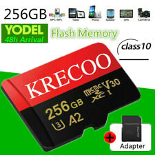 256GB TF Micro Memory Card 275MB/s A2 UHS-1 Class 10 For Car&Phone&Camera&Drone