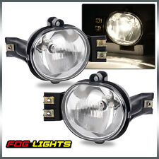 02-08 Dodge Ram 1500/2500/3500 04-06 Dodge Durango Clear Fog Lights Pair+Bulb