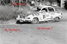 Antero Laine & Raimo Alm Saab 96 V4 1000 Lakes Rally 1975 Photograph 1