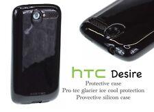 HTC Desire Case Pro-Tec Glacier Silicone Case Cover for HTC Desire - Black
