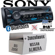 ab 2000 Sony Bluetooth AUX USB MP3 Autoradio für Nissan Almera N16