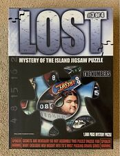 """LOST Mystery of the Island Jigsaw Puzzle #3 """"The Numbers"""" (1000 pieces) *SEALED*"""