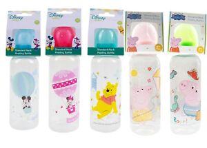 Disney Baby Toddlers Standard Neck Feeding Bottle 250ml Soft Silicone BPA Free
