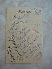 Country Music Show Souvenir Program Signed x 17 Autograph St James MO
