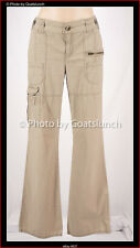 Calvin Klein Travel Pants Cotton Cargo Capri Utility Size 12 (US 8)