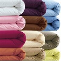 Duvet Cover Set Solid / Plain All Color / Size 1000 Thread Count Egyptian Cotton