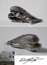Ernst Fuchs - Schutzengel - silber - signiert und nummeriert