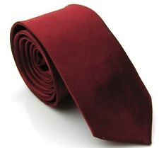 Solid Color Plain Satin Men's Tie Necktie Skinny Classic Necktie Party LJ2_#14