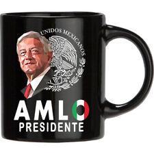 AMLO Presidente Unidos Mexicanos Black Coffee Mug Tea Cup